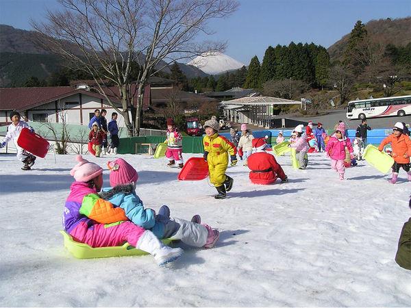 子どもが大好きな雪遊び広場が今年もオープンの画像