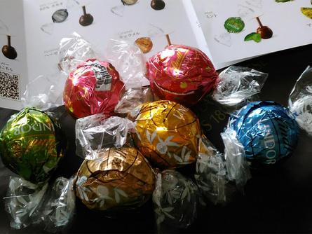 宝探しのように選べるチョコレート