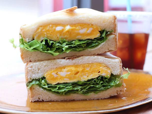 下北沢の路地裏で絶品!出来立てサンドイッチ♪の画像