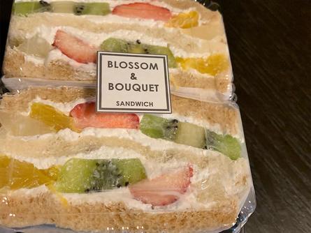 華やかなサンドイッチ
