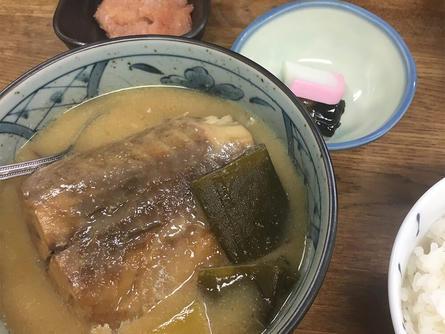 ホロホロの絶品鯖味噌