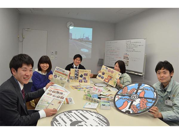 下水道マニア等で広報活動、町田市下水道部の画像