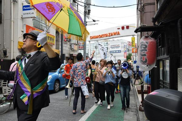 下北沢を熱くする夏の音楽イベントの画像
