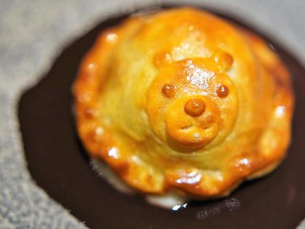 熊のパイが超キュート♥代々木上原駅前のフレンチ