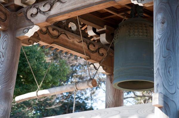 市内最古の梵鐘があるお寺
