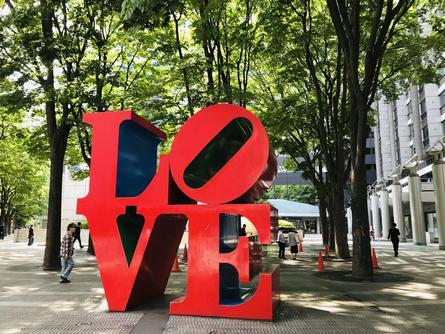 新宿駅から来る人たちに「愛」をもって歓迎を。