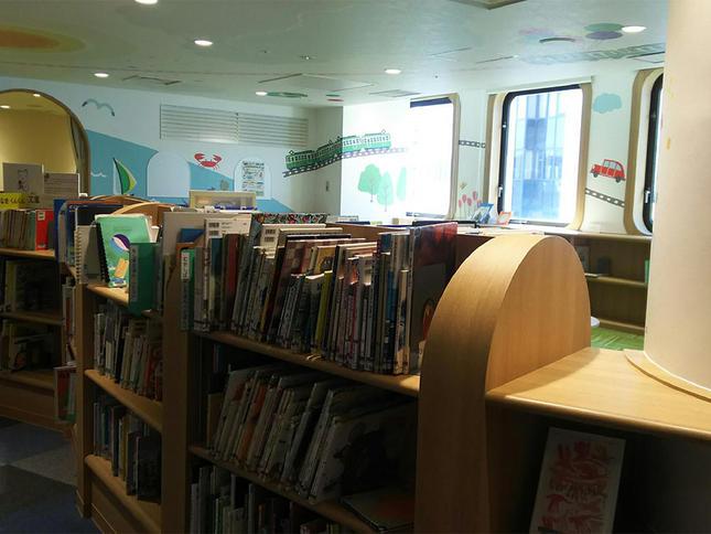 ODAKYU湘南GATEに図書館出現!