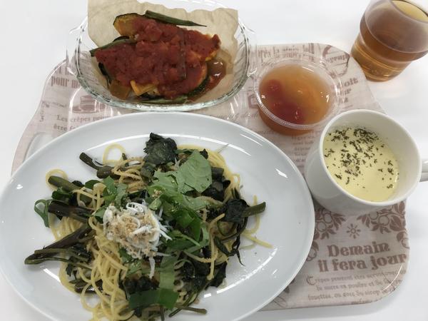 野菜をいっぱい!産直レストランを開催