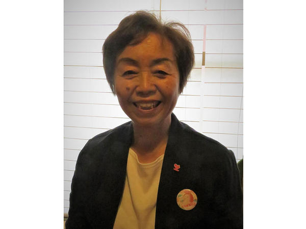 授かるいのちの大切さを伝える活動を行う矢野秀代さんの画像
