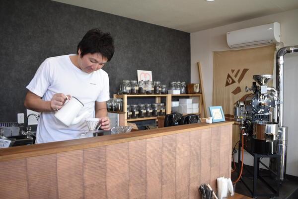 毎日飲んでも飽きないコーヒーを自家焙煎の画像