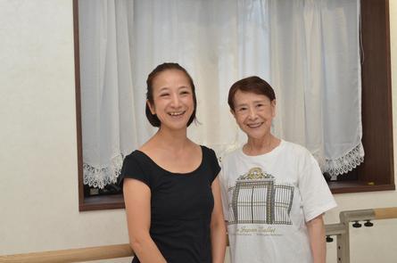 バレエの世界で輝く母と娘 斎藤弘子さん・星さん
