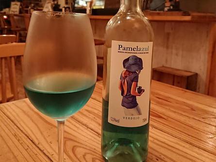 ブルーワインと出会いました!