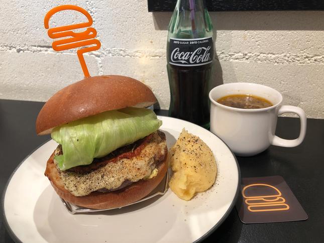 世界一美味しいと言われる胡椒をハンバーガーで味わう