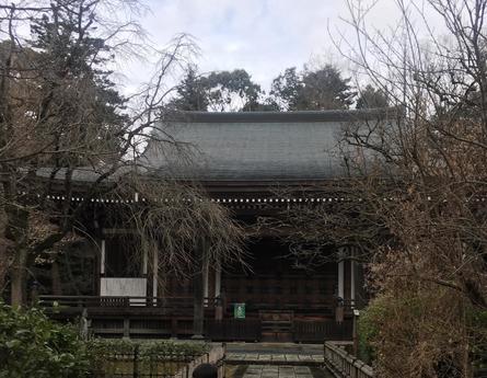 日本最古の甘柿の原木が残る王禅寺