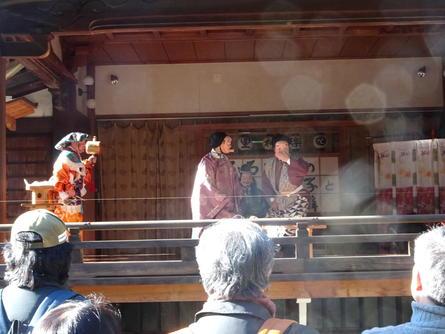 喜多見の鎮守様、氷川神社でのお正月