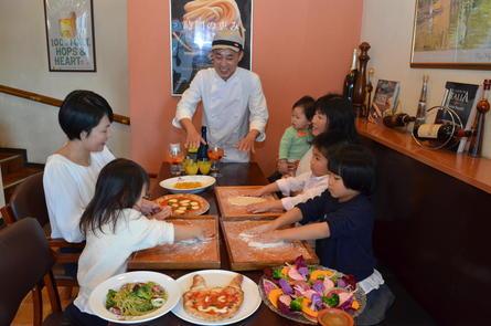 子供連れでの集まりはイタリアンレストランで