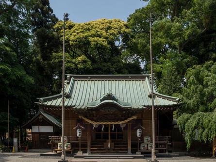 謎の多い「深見神社」でパワーを補充