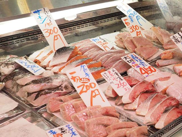 藤沢駅で大人気の魚屋さん
