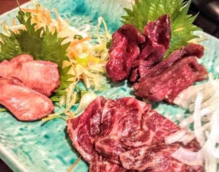 小田原で黒龍と馬肉を楽しめるお店を発見