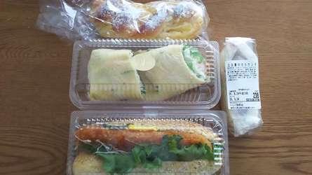 総菜パンが豊富なパン屋