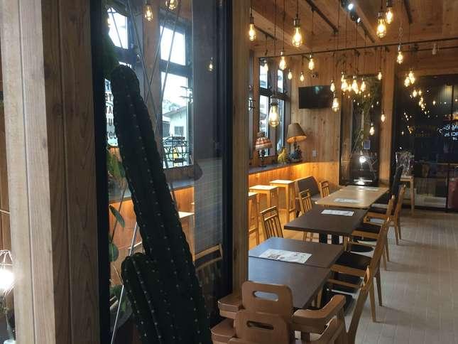 住宅地のすてきな空間「THE SACCA CAFE」