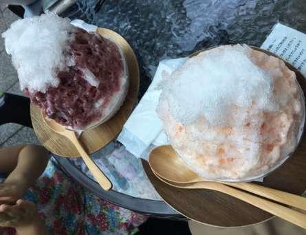 ケーキ屋さんの絶品かき氷