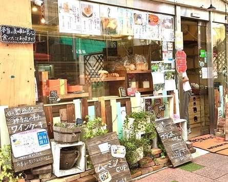 駅前のパン屋さん「ミツバチ」