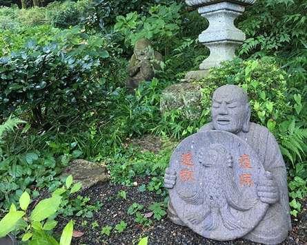 柿生のあじさい寺「浄慶寺」は羅漢さんが楽しい