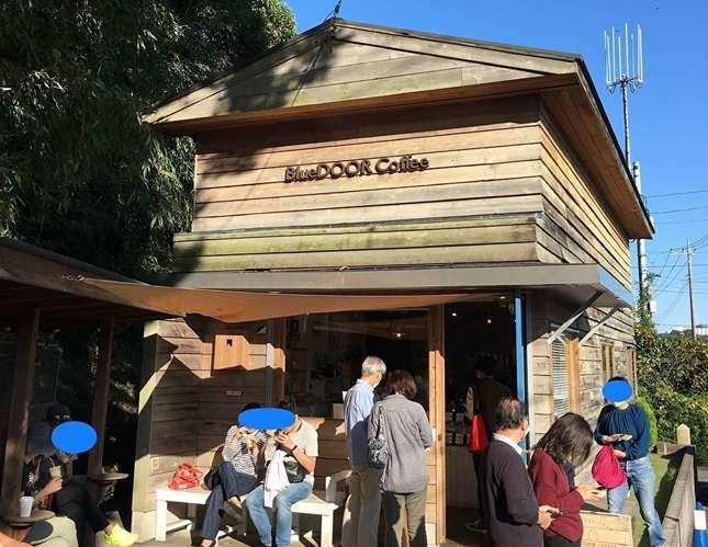 里山に香るカフェ「Blue DOOR Coffee」