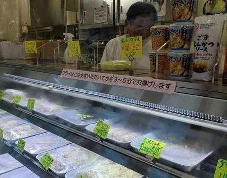 ポテトサラダも美味しいフライ専門店