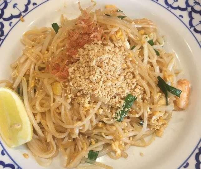 多国籍な街で老舗のタイ料理