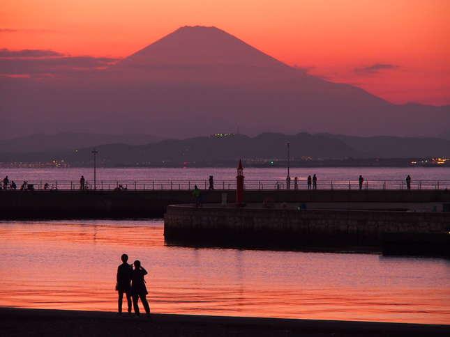 地元民お勧めの湘南夕景スポット 江ノ島弁天橋