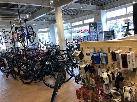 藤沢の自転車屋さん