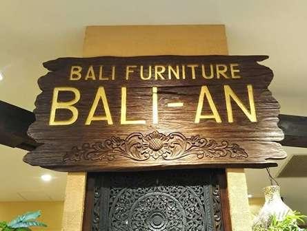 ここはバリ島?家具や雑貨が充実の「BALI-AN」